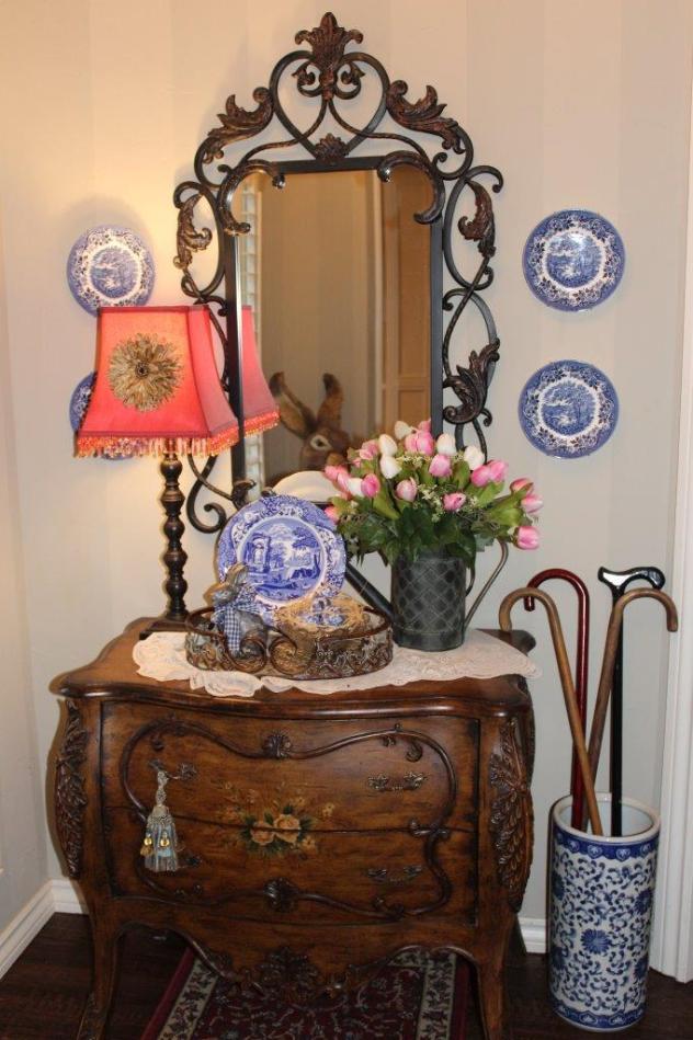 Belle Bleu Interiors Spring Foyer 9