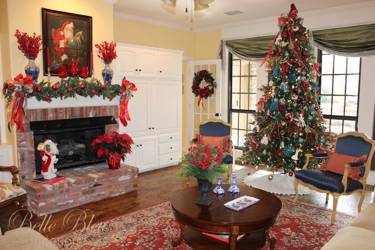 The Living Room Tree Is A Traditional One Filled Mostly With Religious  Ornaments, Ribbon, And Colored Balls. Another Tree, In Our Sunroom, ...