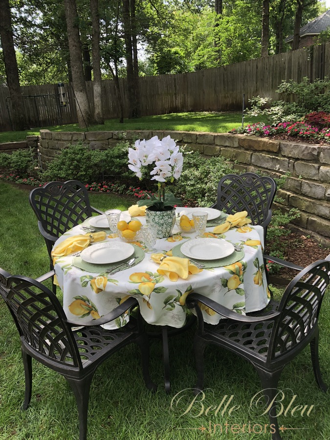 Tablescape Thursday: Happy First Day of Summer