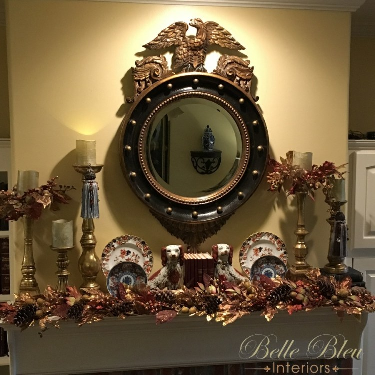 Fall Mantel and Some New Finds