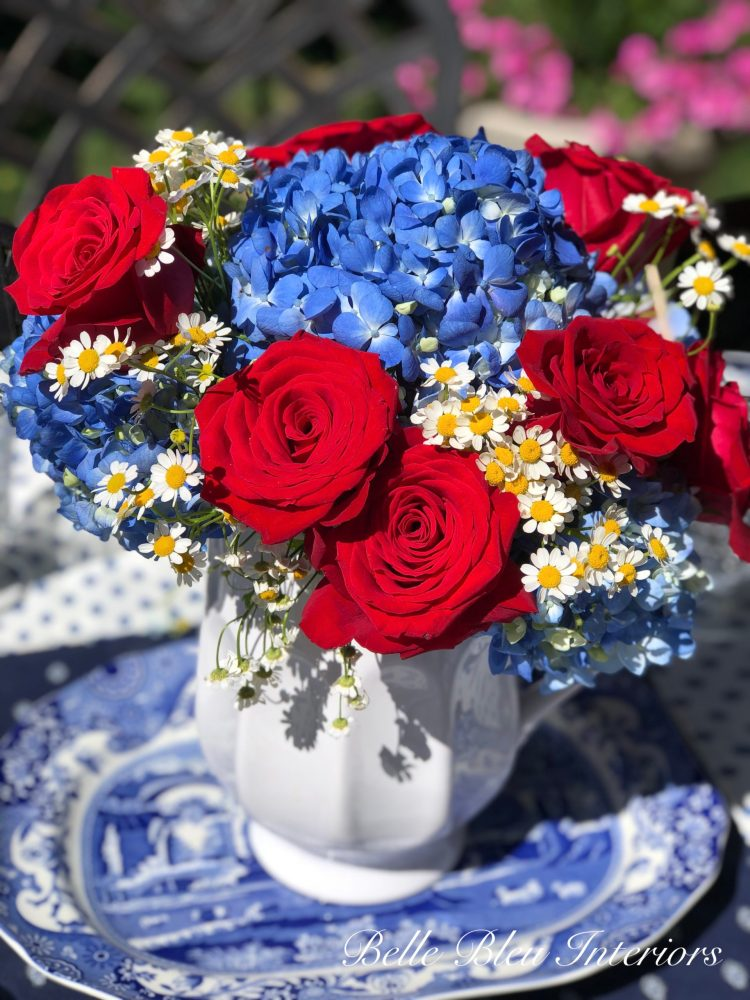 A Patriotic Tablescape