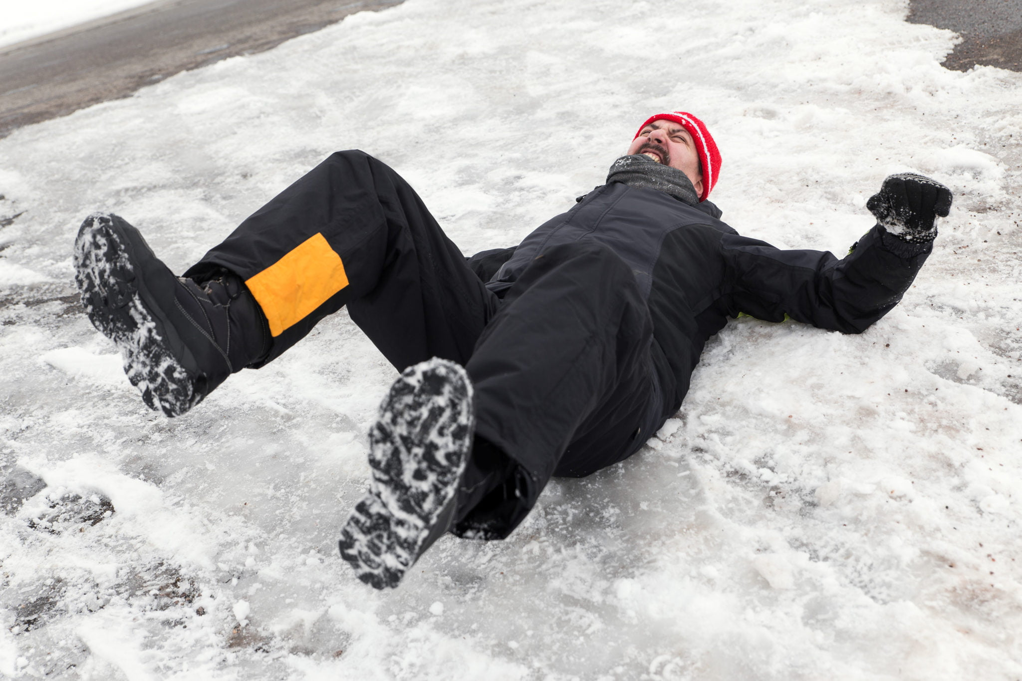 Trips Slips And Ice Workplace Falls