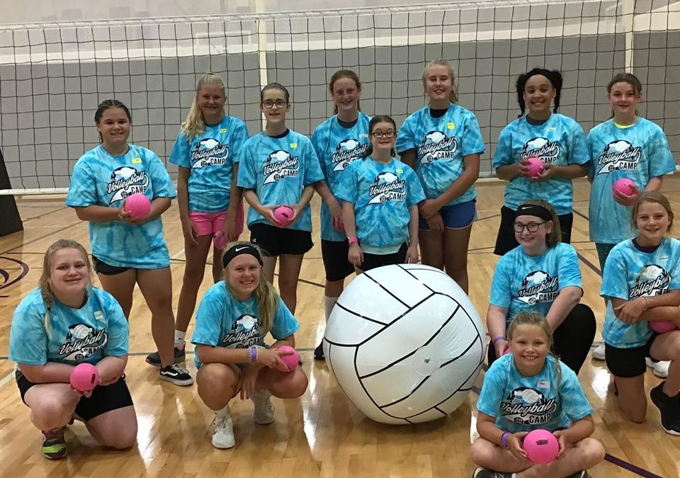 Youth Volleyball Camp was a Blast!