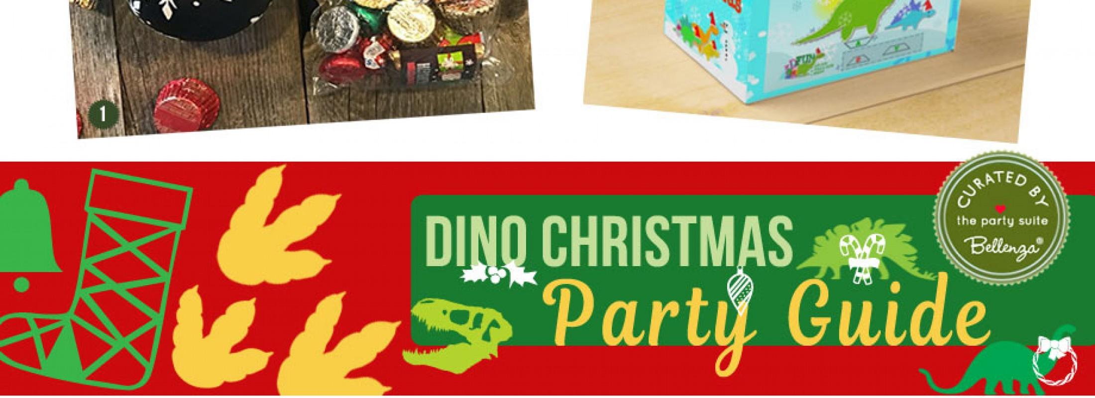 dinosaur christmas party ideas