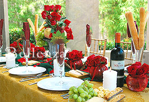 Tuscan Inspired Centerpiece