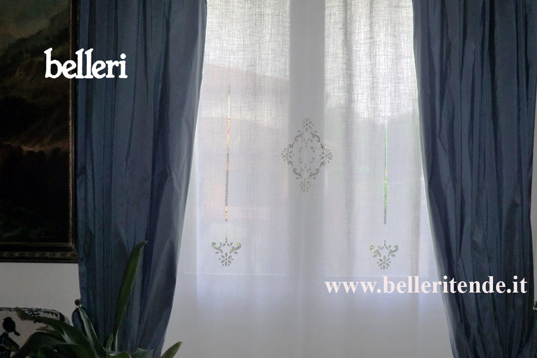 Belleri  tende decorate
