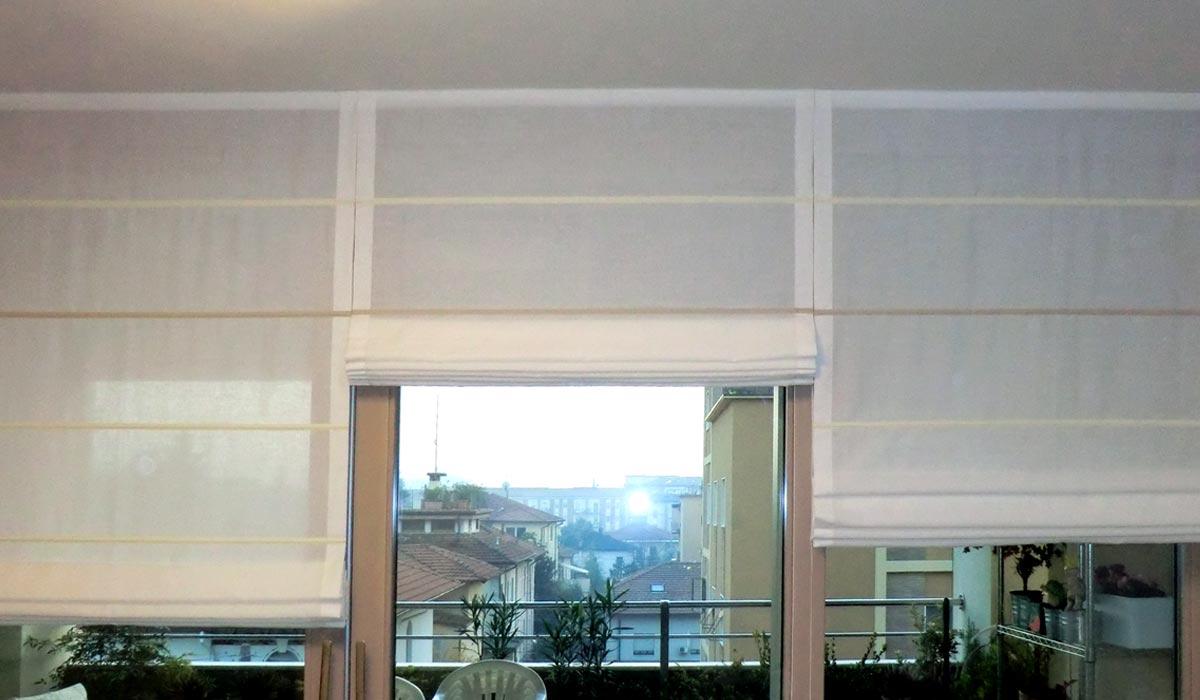 Astina velcrata per finestre a vetro (con foratura dei serramenti). Belleri Tende A Pacchetto