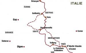 plan route des grands alpes 3