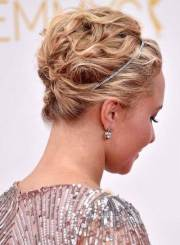 chic updo hairstyles
