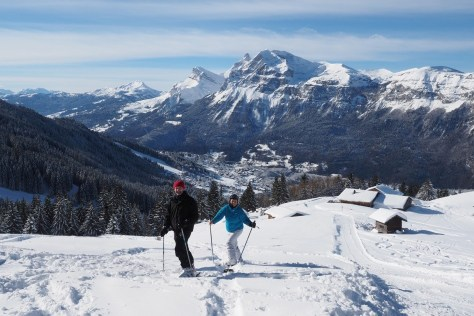 Fantastic ski holiday & off-piste skiing
