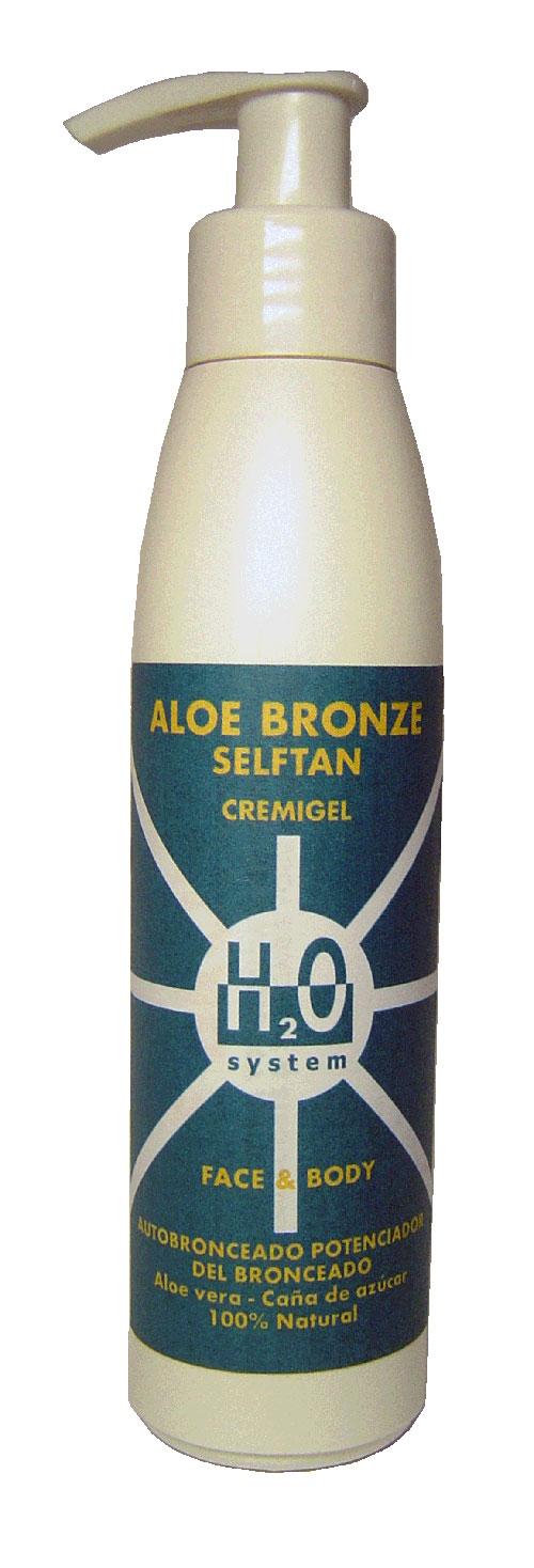 Aloe Bronze Selftan de Homeosan te prepara para la playa