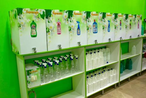 Saponando ahorra con productos de aseo y limpieza a granel  BellezaPura