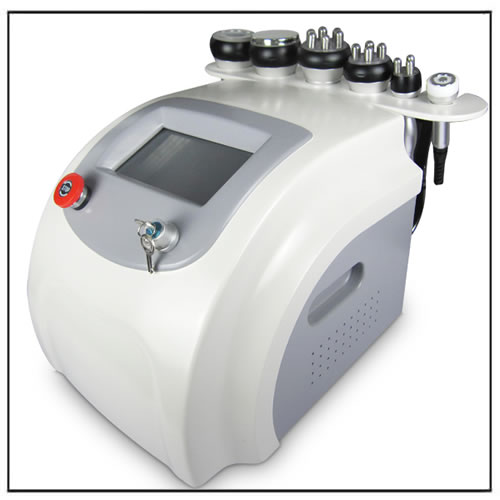 6 in 1 Cavitation RF Multifunctional Beauty Salon Machine