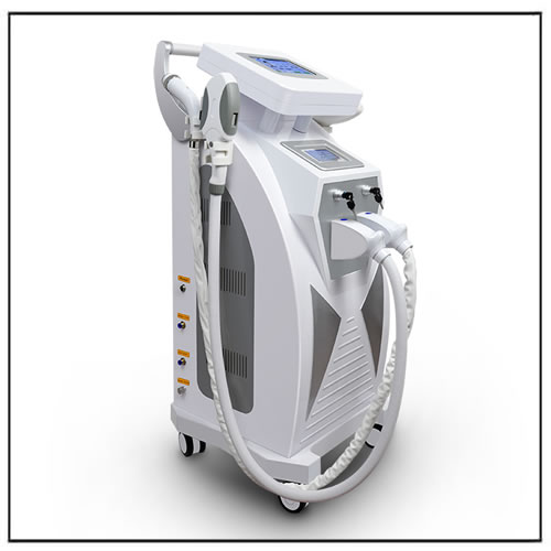 Multifunction IPL Nd-yag Laser RF Machine