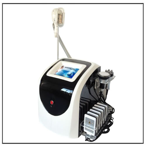 4 in 1 Lipolaser Cavitation RF Cryolipolysis Machine