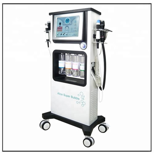 Alice Super Bubble Hydro Massage Oxygen Jet Peel Facial Machine
