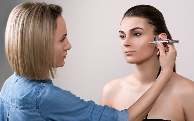 How To Apply Airbrush Foundation
