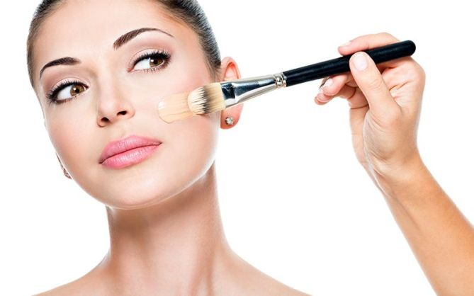How To Apply Liquid Foundation With A Brush