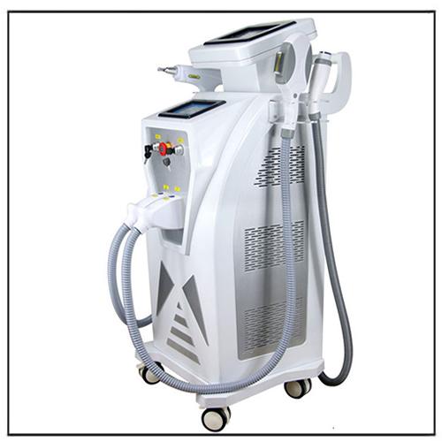 4 IN 1 SHR Ipl RF Nd yag Laser Multifunction Beauty Salon Equipment