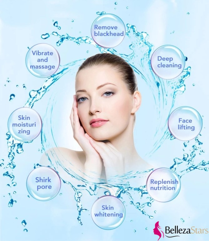 Hydro water microdermabrasion machine treatments