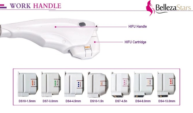 HIFU High Intensity Focused Ultrasound wORK Handpieces