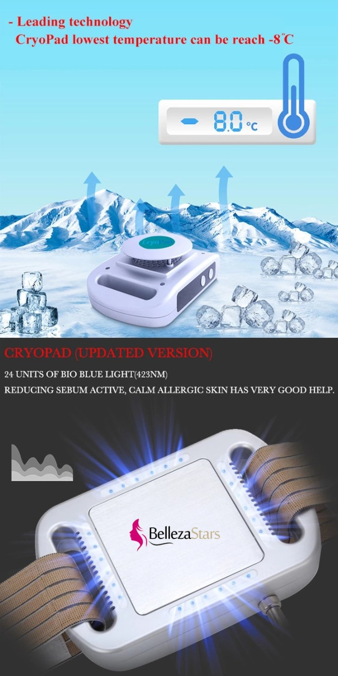 Mini Fat Freezing Cryo Pad Cryolipolysis Machine