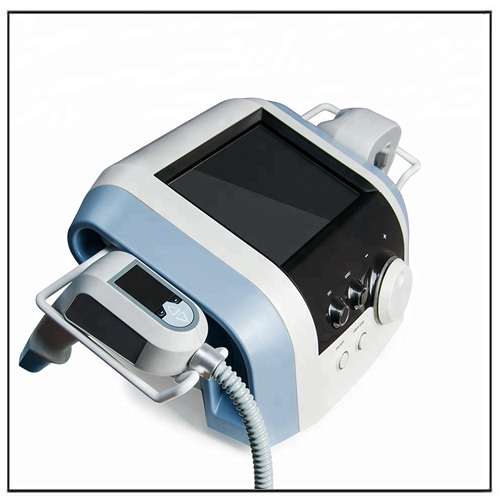 Portable Focused Ultrasound Monopolar RF Machine for Face Tightening and Body Slimming