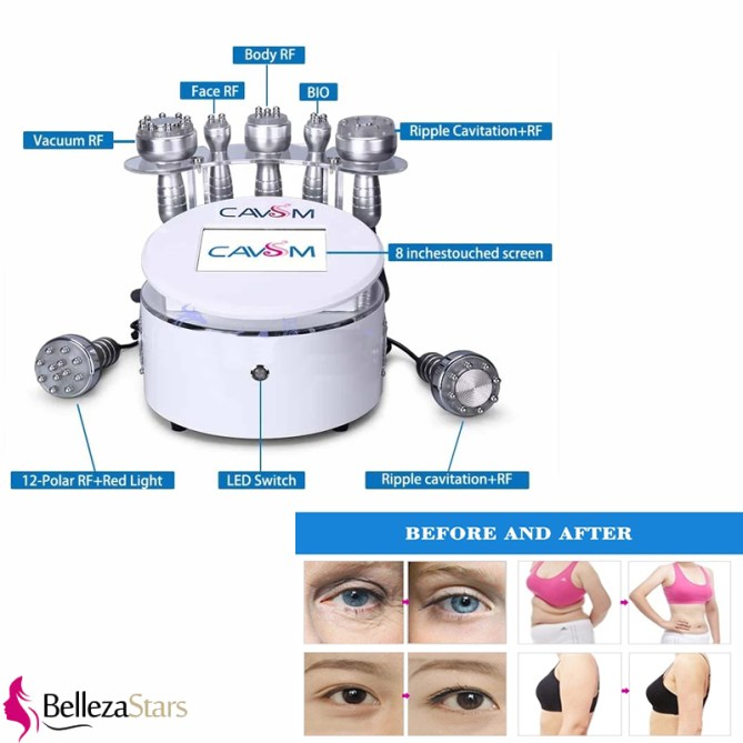 Salon Use Cavitation Slimming Cellulite Reduction Vacuum Machine