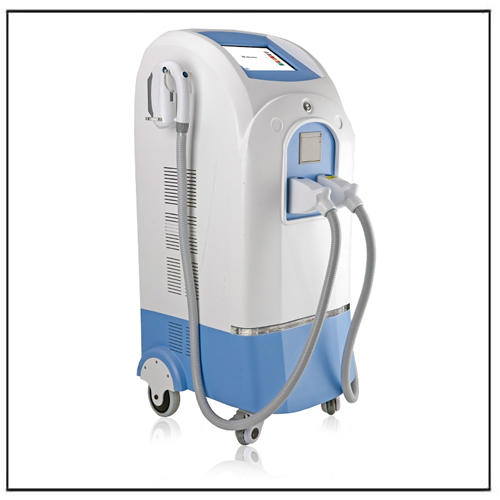 Plastic Elight Spot Hair Removal Depilation IPL Machine