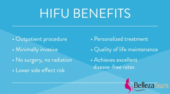 how is hifu different benefits