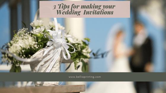 Wedding Invitations Bellia