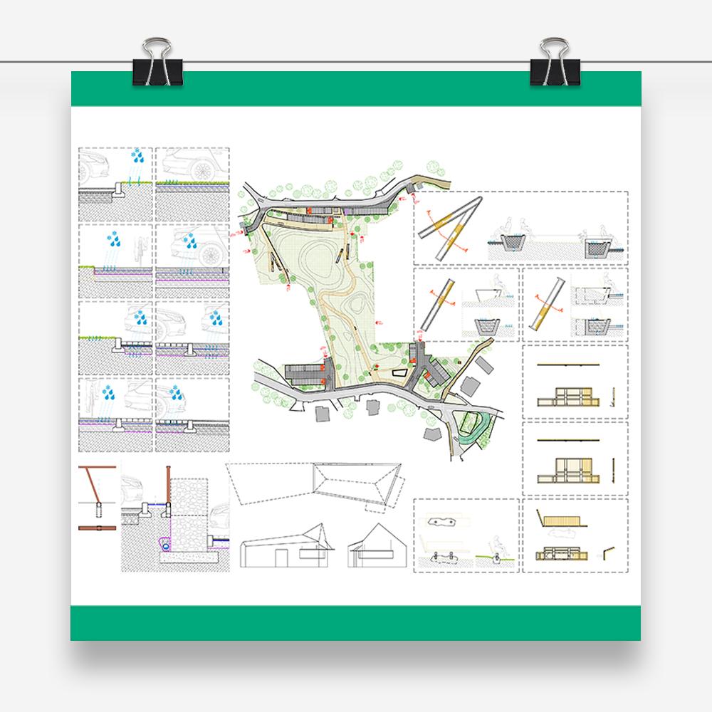 puzzle park: progetto urbano e di design per la realizzazione di un nuovo parco pubblico per la comunità di Castione della Presolana