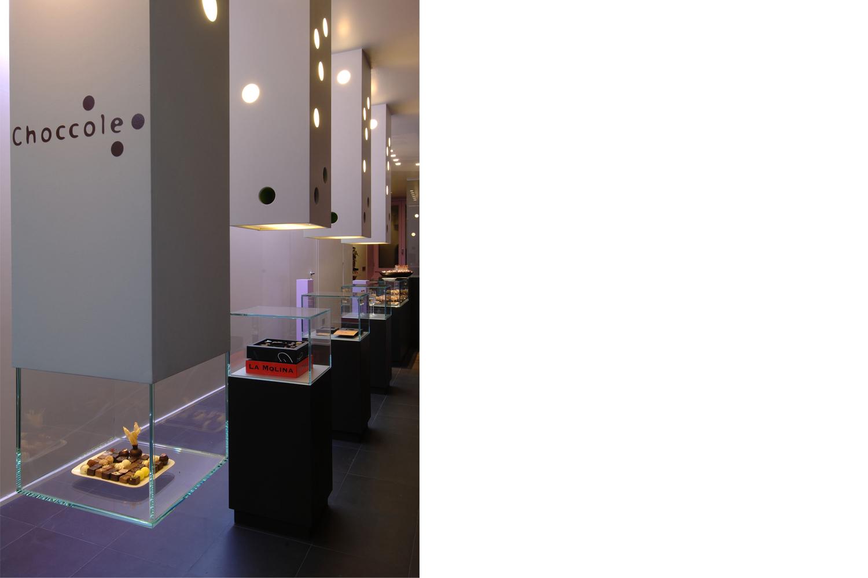 choccole: progetto d'interior e design per un nuovo locale adibito a cioccolateria a Castione della Presolana