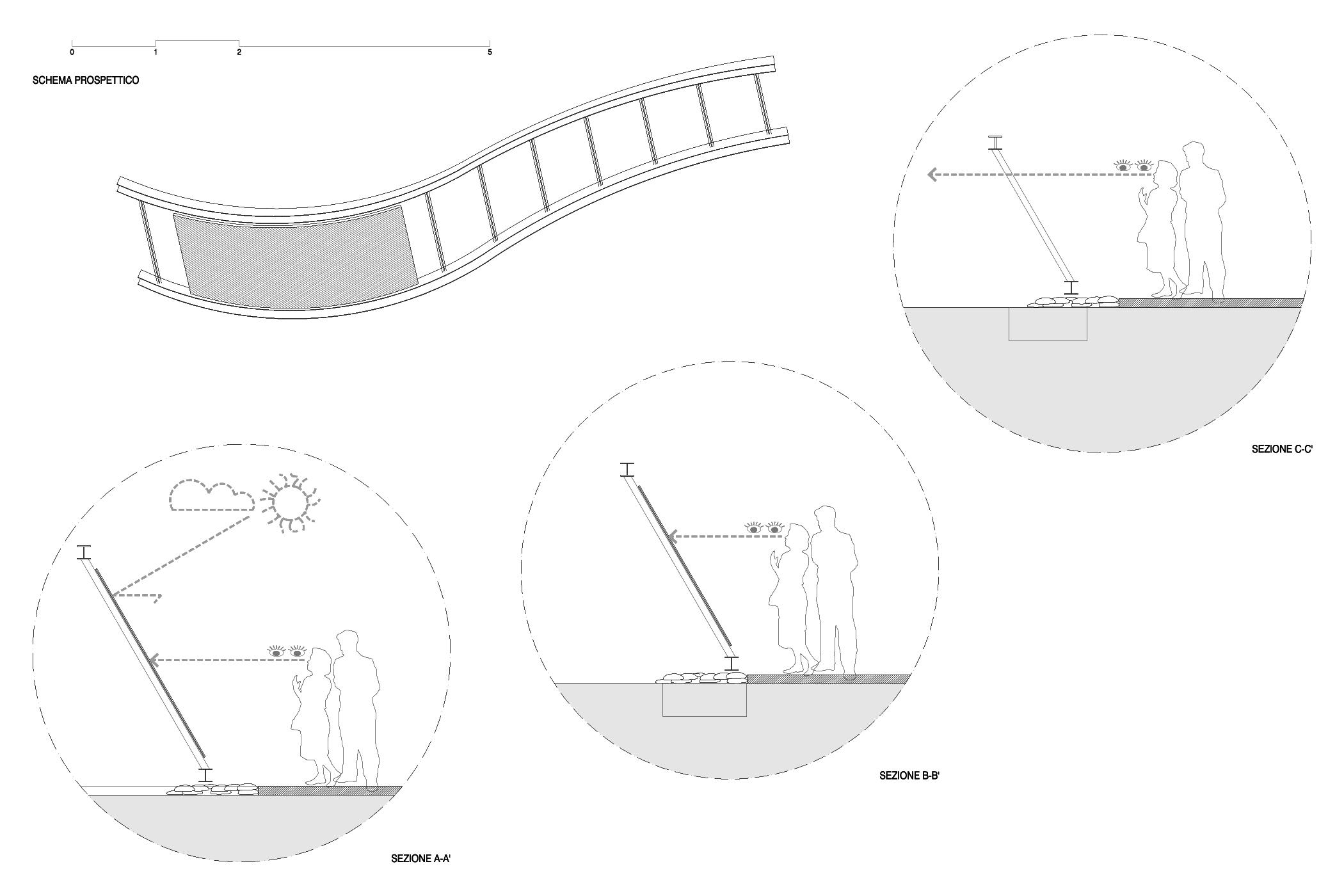 la soglia: progetto urbano e di design per la realizzazione dell'insegna del Parco della Montagna a Castione della Presolana
