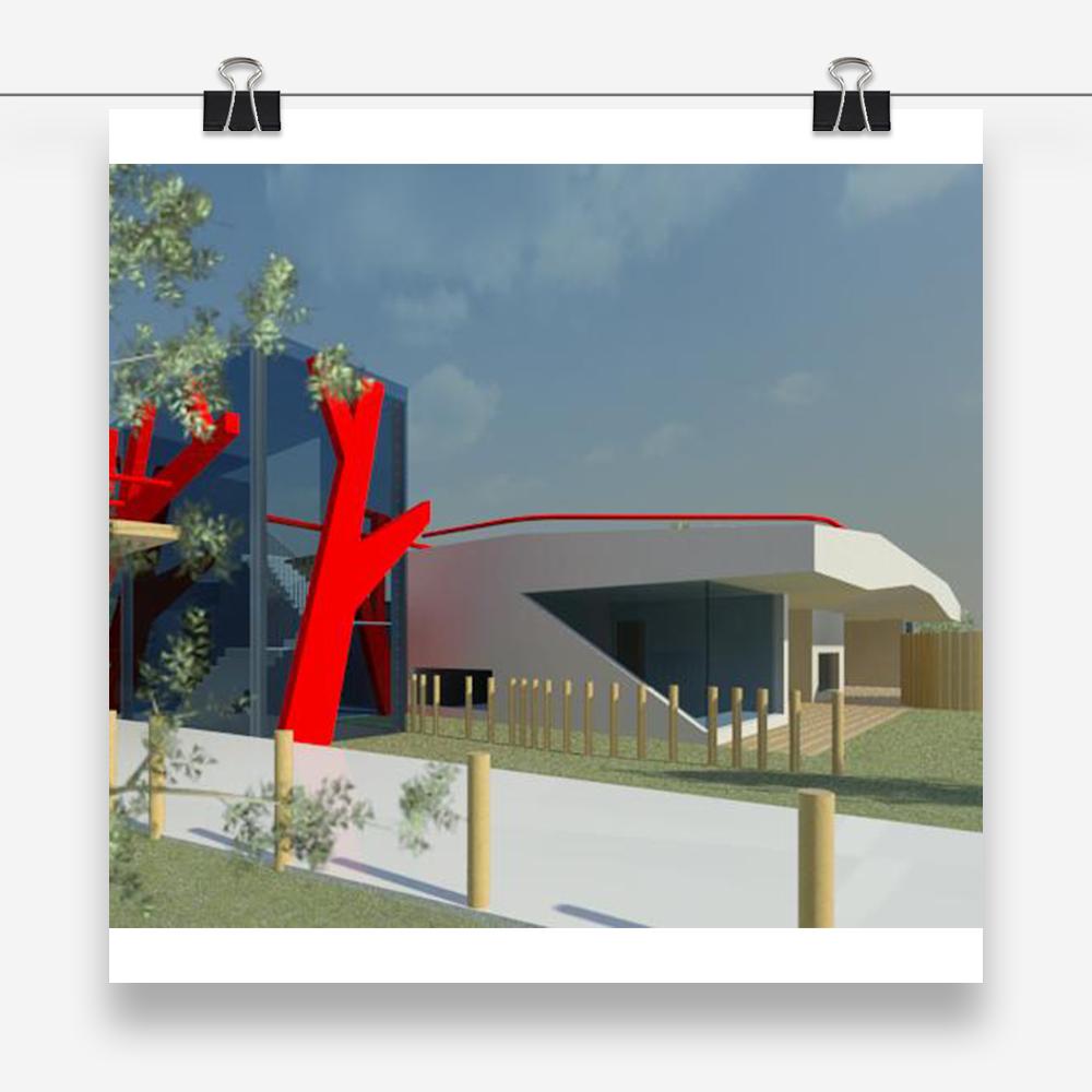 competition KinderLINDE: progetto di architettura per la realizzazione di un edificio scolastico polifunzionale ad Aarau in Svizzera