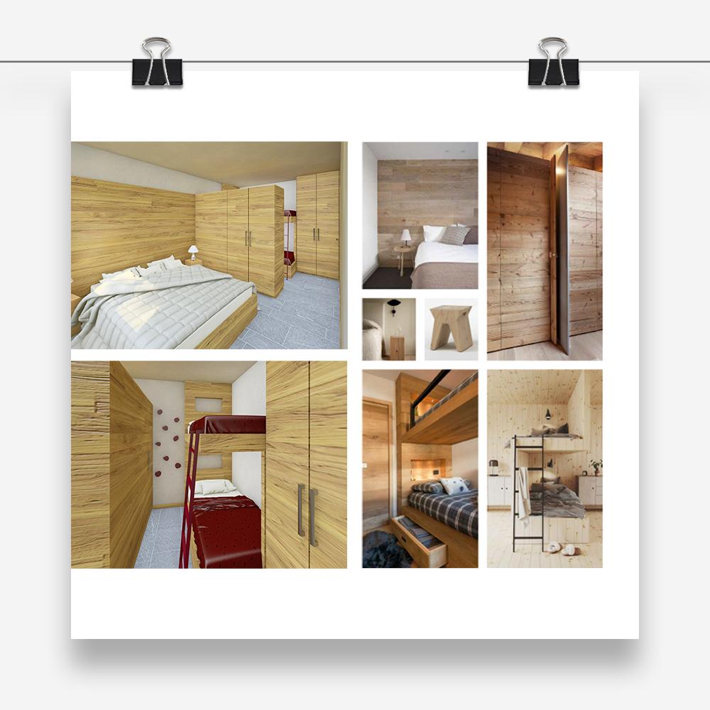 casa boschetto: progetto di interni per il restyling di un'abitazione unifamiliare