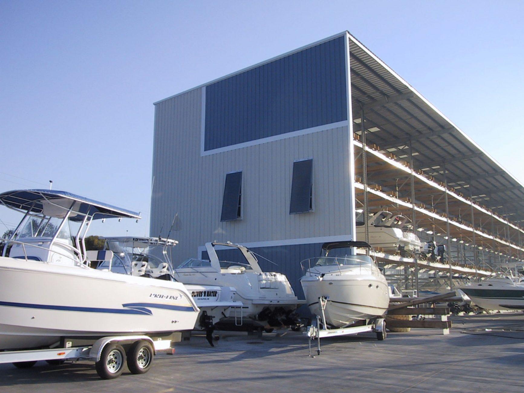 drystack boat storage bellingham marine