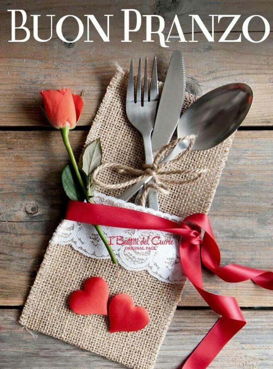 Buon Pranzo Con Amore Buon pranzo amici cari mali lino