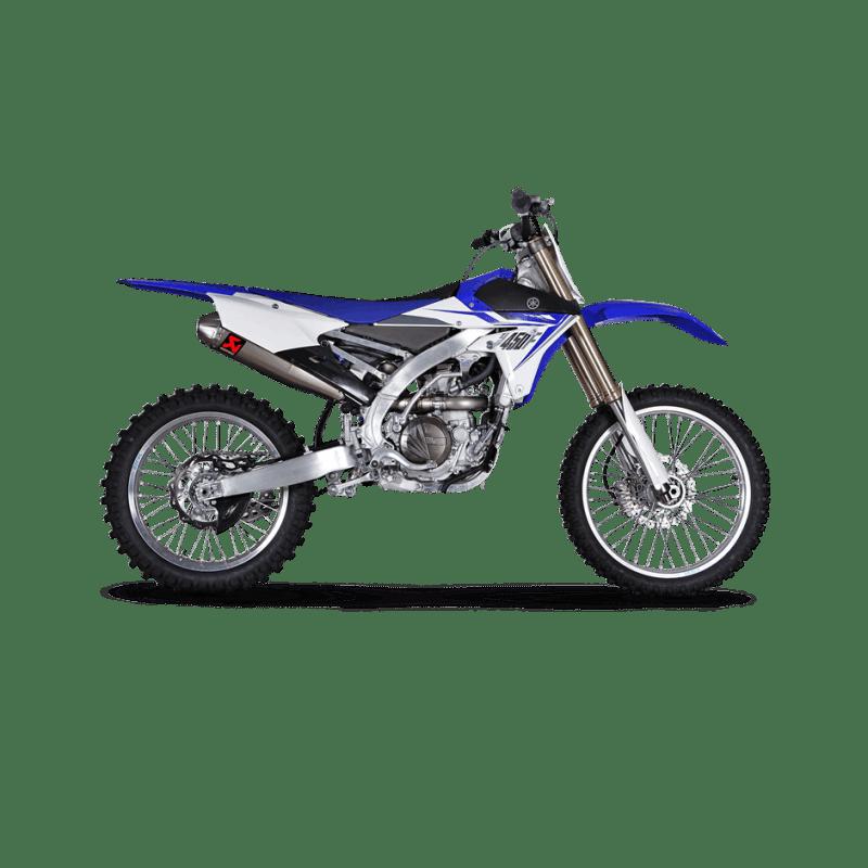 Akrapovic Evolution Exhaust System Yamaha YZ450F 2014-2016