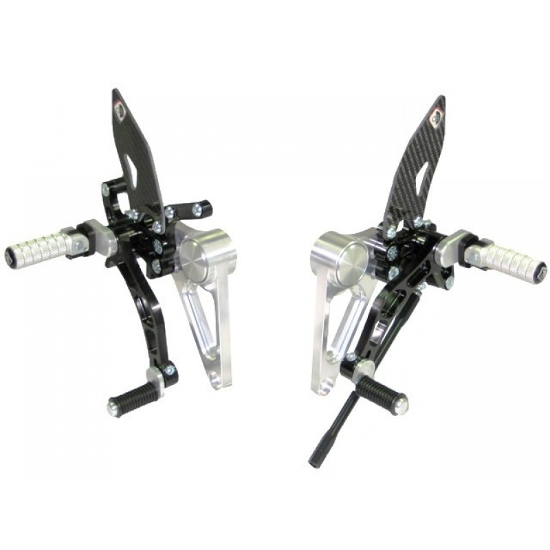 Ducabike Adjustable Rearsets for the Ducati Monster S2R