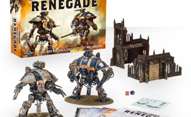 Imperial Knight Renegade Box Set Review Spikey Bits