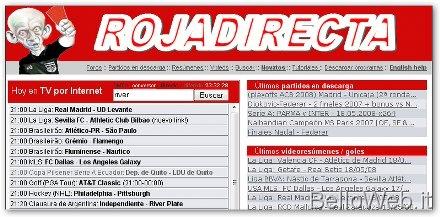 Streaming Rojadirecta