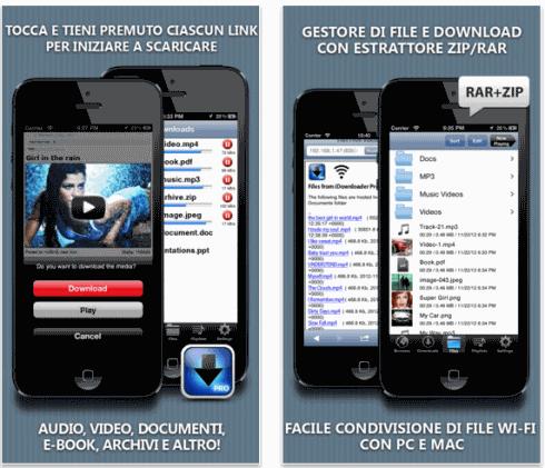 App per il download di Film su iPhone e iPad