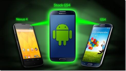 Nexus 4 vs Samsung Galaxy S4 Google Edition