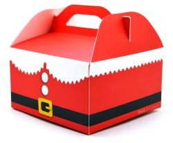 Christmas Santa Holiday Packaging box