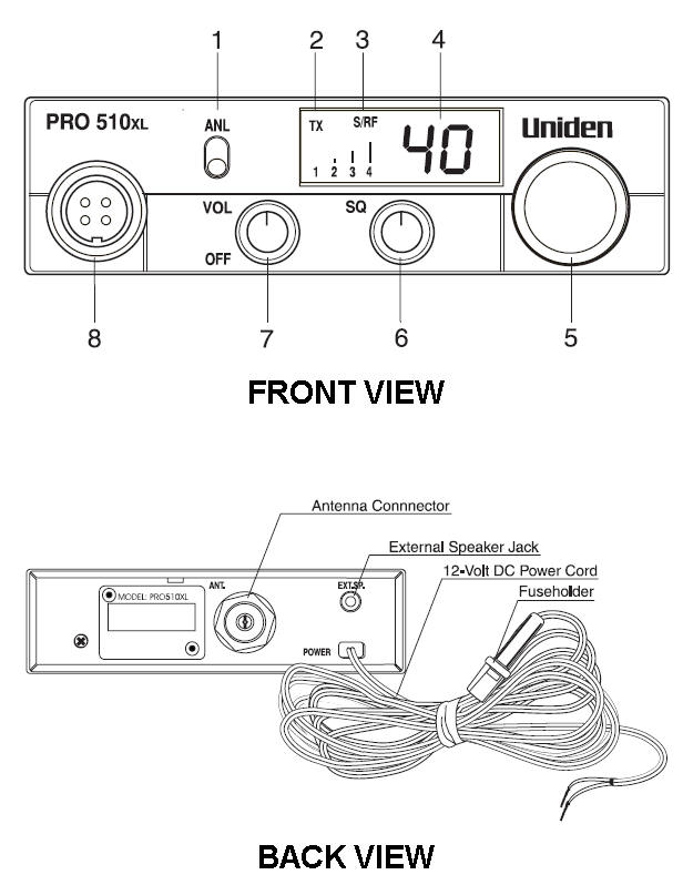 uniden wire diagram