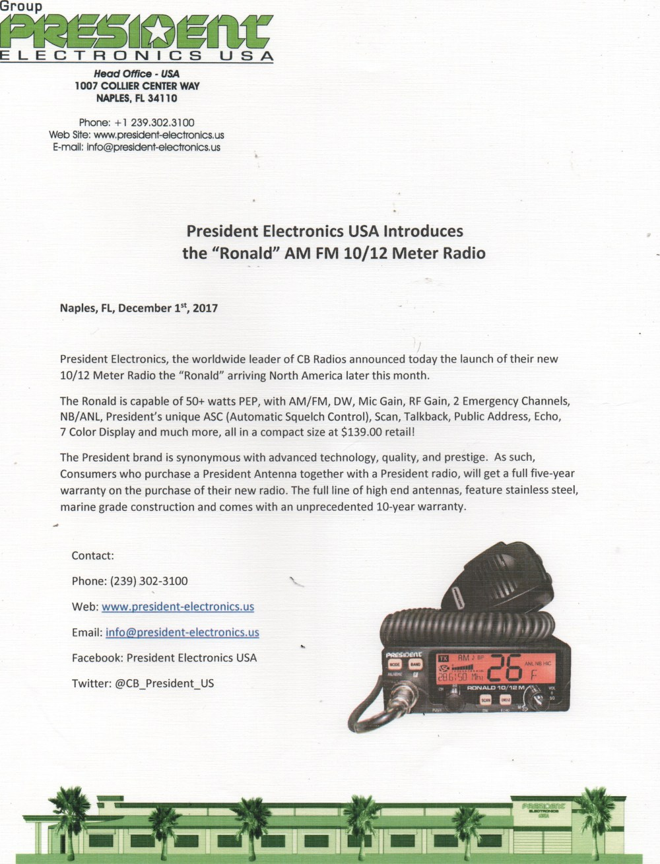 medium resolution of  president ronald on uniden grant xl modifications uniden cb wiring diagram uniden headset 3 pin mic