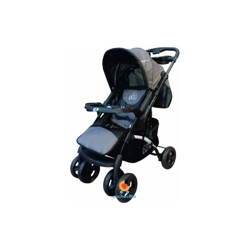 Coche Duck Pariggi Travel System Huevo Base Cubrepies
