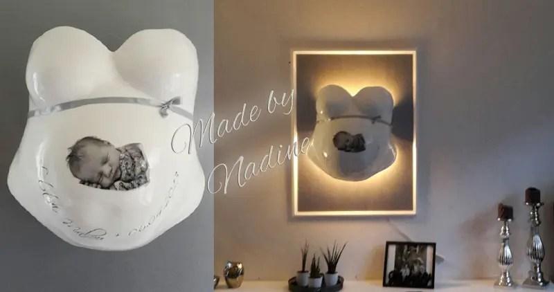 Gipsabdruck Babybauch Galerie Fotos Motive  Ideen