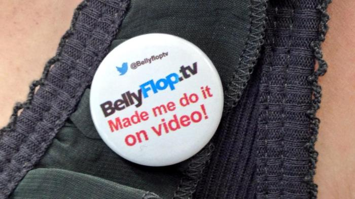 Bellyflop TV badge
